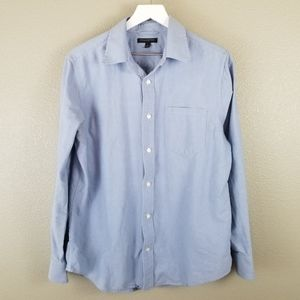 Banana Republic Blue Long Sleeve Button Up Shirt L
